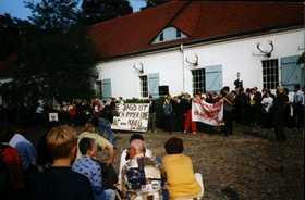 Protest gegen Jägerpropaganda